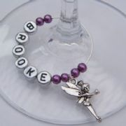 Magic Fairy Personalised Wine Glass Charm